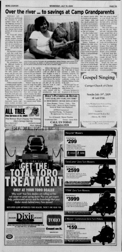 Athens News Courier, July 15, 2009, p. 18