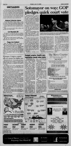 Athens News Courier, July 17, 2009, p. 3