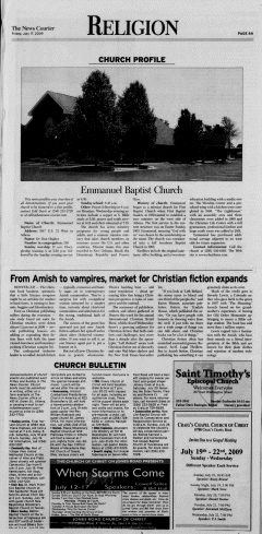 Athens News Courier, July 17, 2009, Page 11