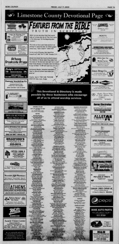 Athens News Courier, July 17, 2009, p. 13
