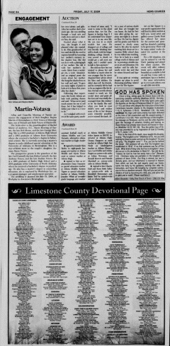 Athens News Courier, July 17, 2009, p. 15