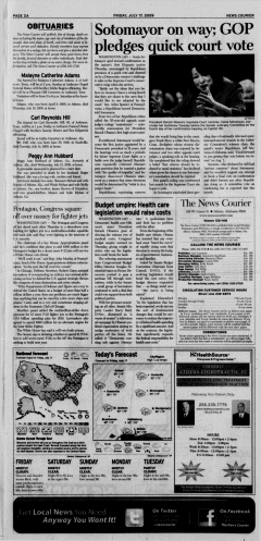 Athens News Courier, July 17, 2009, p. 4