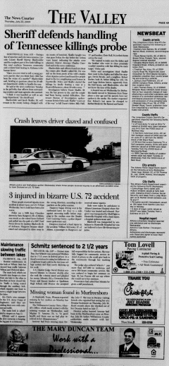 Athens News Courier, July 23, 2009, Page 7
