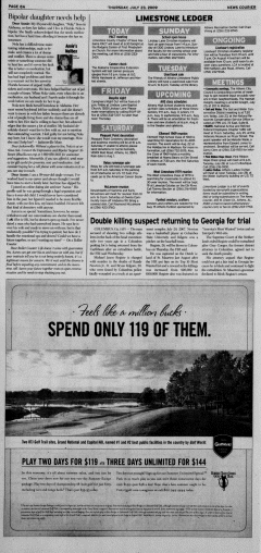 Athens News Courier, July 23, 2009, Page 15