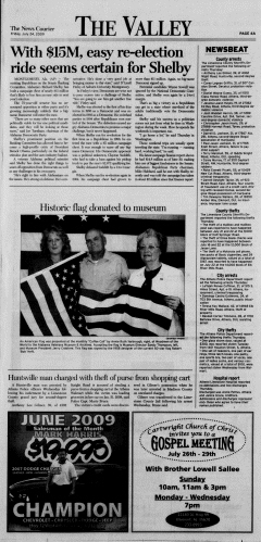Athens News Courier, July 24, 2009, p. 7
