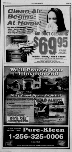 Athens News Courier, July 24, 2009, p. 17