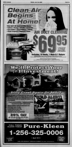 Athens News Courier, July 24, 2009, p. 18