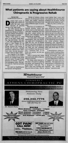 Athens News Courier, July 26, 2009, Page 45