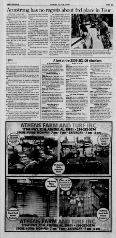 Athens News Courier, July 26, 2009, Page 73
