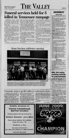Athens News Courier, July 26, 2009, Page 12