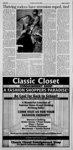 Athens News Courier, July 26, 2009, Page 44