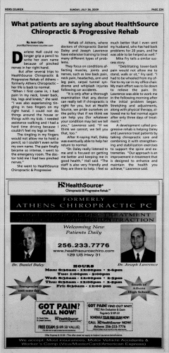 Athens News Courier, July 26, 2009, Page 46