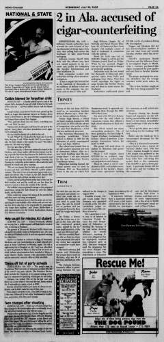 Athens News Courier, July 29, 2009, Page 5
