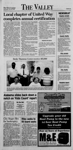 Athens News Courier, July 29, 2009, Page 7