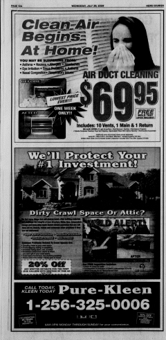 Athens News Courier, July 29, 2009, p. 19