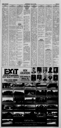 Athens News Courier, July 29, 2009, Page 45