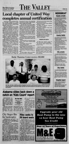 Athens News Courier, July 29, 2009, Page 8