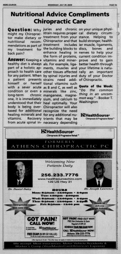 Athens News Courier, July 29, 2009, Page 10