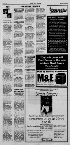 Athens News Courier, July 31, 2009, p. 11