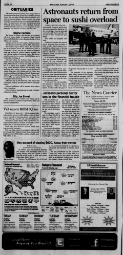 Athens News Courier, August 01, 2009, Page 3