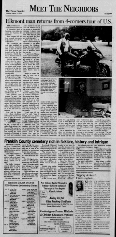 Athens News Courier, August 02, 2009, Page 27
