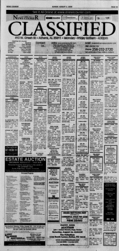 Athens News Courier, August 02, 2009, Page 69