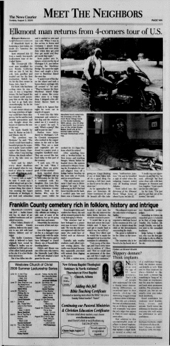 Athens News Courier, August 02, 2009, Page 28