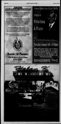 Athens News Courier, August 02, 2009, Page 32