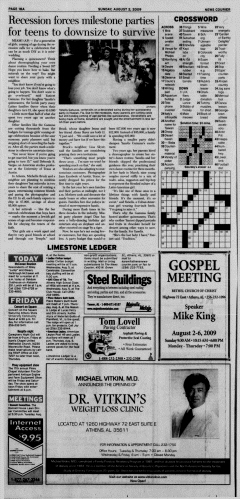 Athens News Courier, August 02, 2009, Page 36