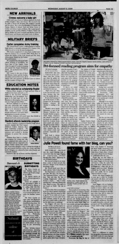 Athens News Courier, August 04, 2009, Page 45