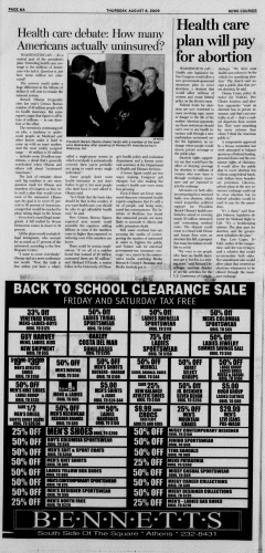 Athens News Courier, August 06, 2009, Page 11