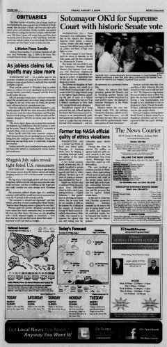 Athens News Courier, August 07, 2009, Page 3