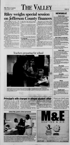 Athens News Courier, August 07, 2009, Page 8