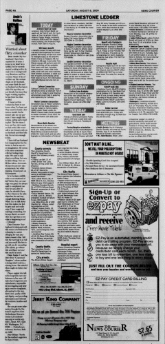 Athens News Courier, August 08, 2009, Page 8