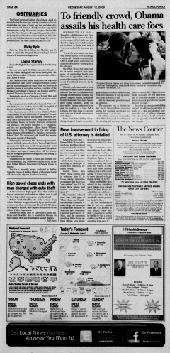 Athens News Courier, August 12, 2009, Page 4