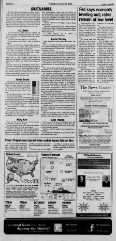 Athens News Courier, August 13, 2009, Page 3