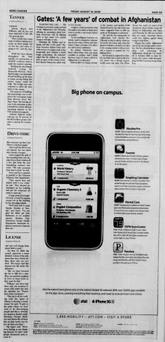 Athens News Courier, August 14, 2009, p. 9