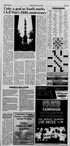 Athens News Courier, August 16, 2009, Page 37