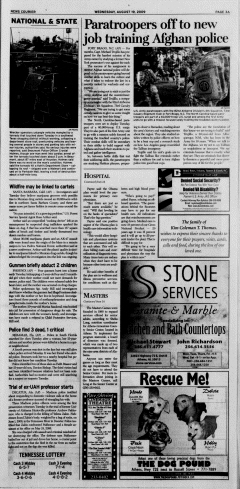 Athens News Courier, August 19, 2009, Page 5