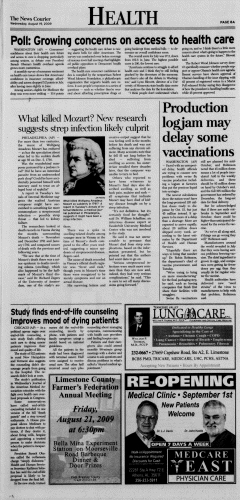 Athens News Courier, August 19, 2009, Page 15