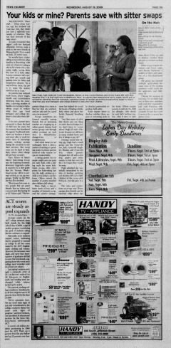 Athens News Courier, August 19, 2009, Page 17