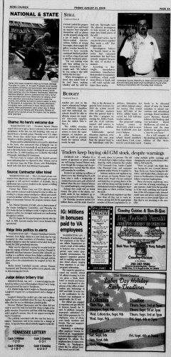 Athens News Courier, August 21, 2009, Page 5
