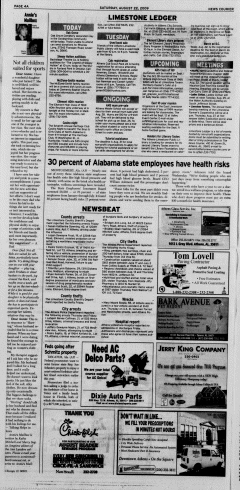 Athens News Courier, August 22, 2009, Page 7