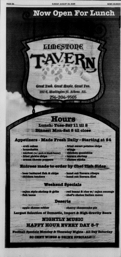 Athens News Courier, August 23, 2009, Page 15