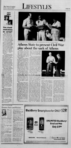 Athens News Courier, August 23, 2009, Page 17