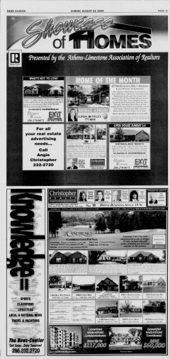 Athens News Courier, August 23, 2009, Page 73