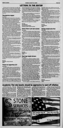Athens News Courier, August 23, 2009, Page 10
