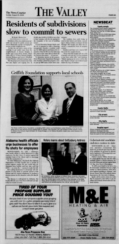 Athens News Courier, August 23, 2009, Page 12
