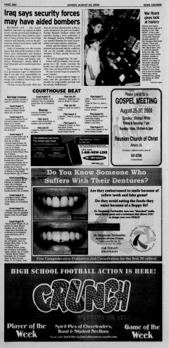 Athens News Courier, August 23, 2009, Page 52