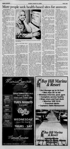 Athens News Courier, August 23, 2009, Page 58